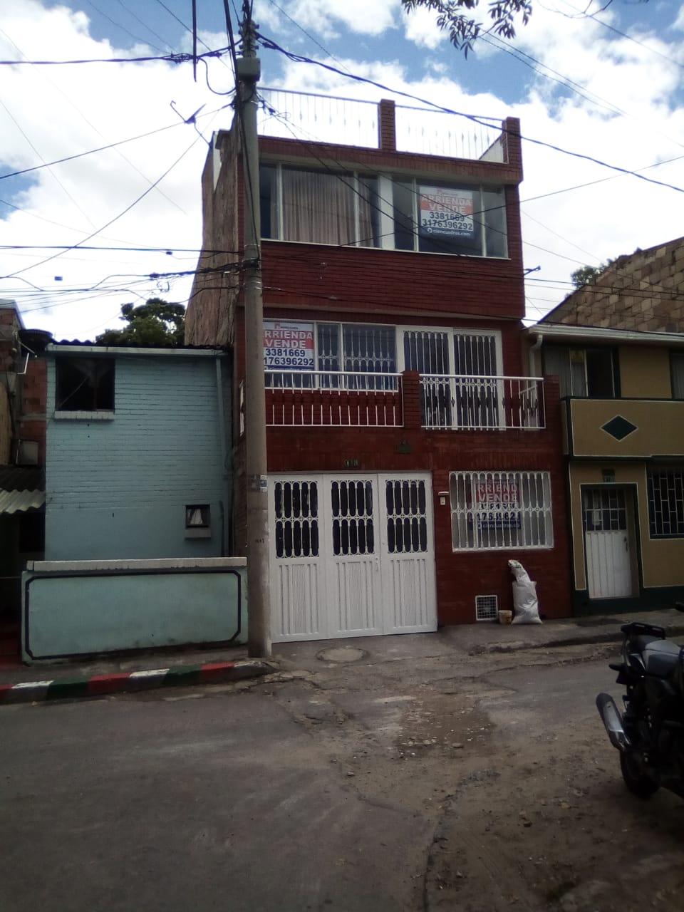 ARRIENDO CASA SAN CRISTOBAL NORTE